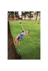 B4 Adventure 8ft Slackers ninja Climbing Rope w/ Foot Holds