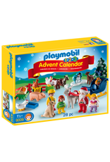 Playmobil 1.2.3 Advent Calendar 'Christmas on the Farm'