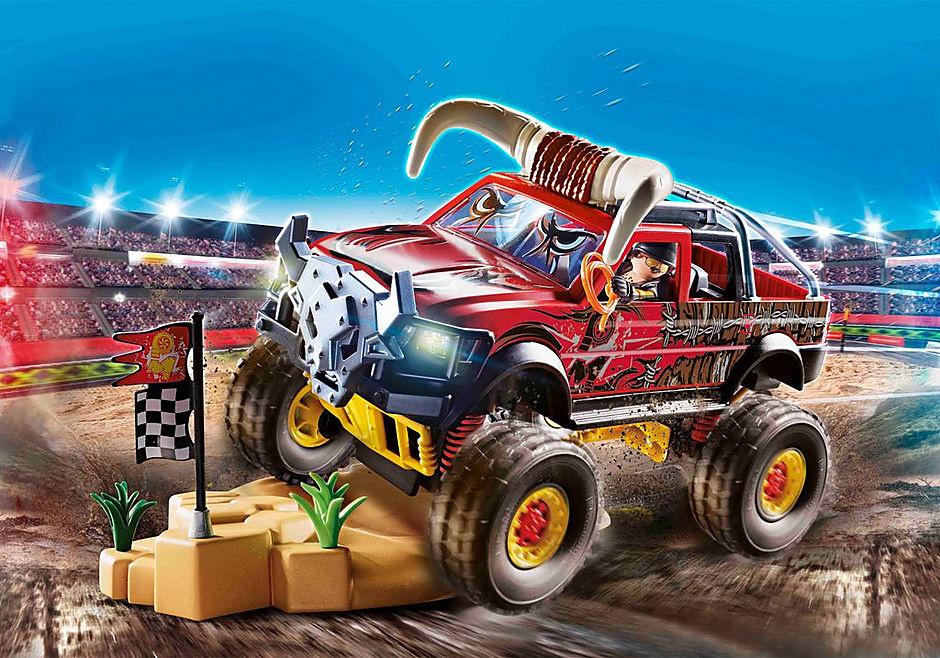 Playmobil Stunt Show Bull Monster Truck