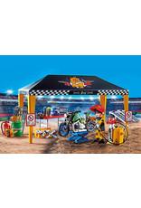 Playmobil Stunt Show Service Tent