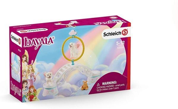 Schleich Winged Baby Lion Training