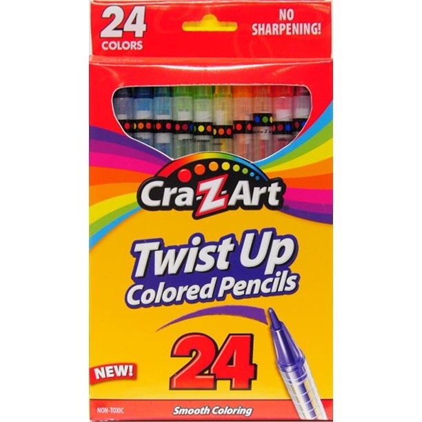 Twist up Colored Pencils