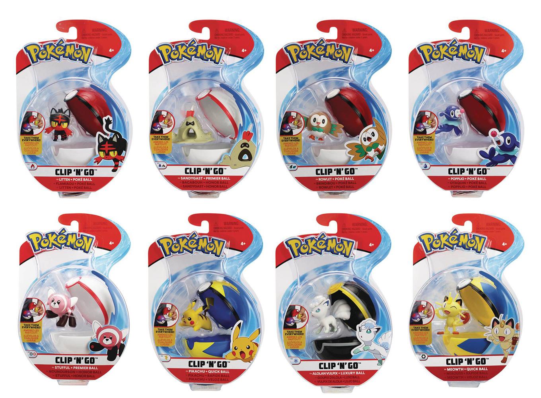 Pokemon Clip N Go Assortment