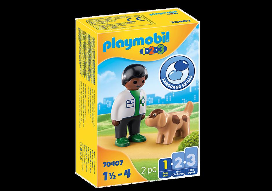 Playmobil Vet with Dog