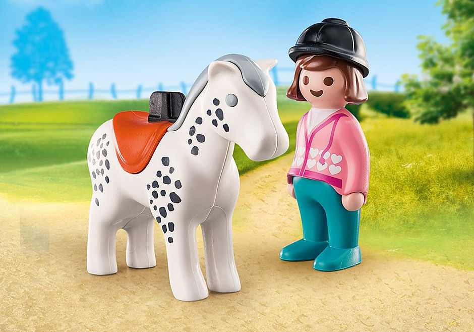 Playmobil Rider with Horse