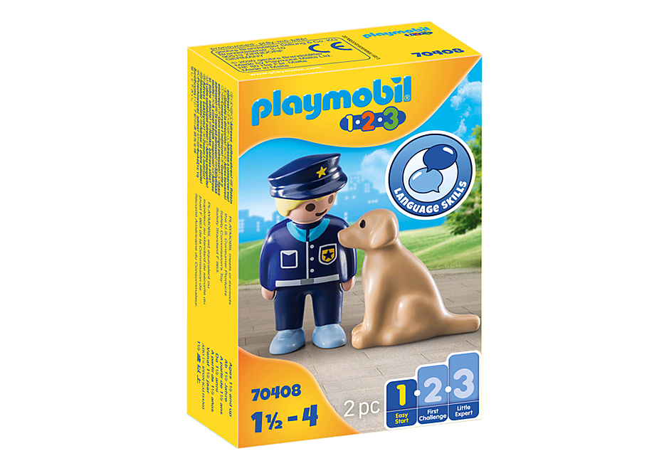 Playmobil Police Officer with dog