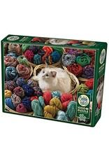 Cobble Hill 1000 Piece Puzzle Fur Ball
