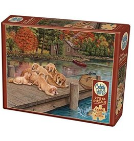 Cobble Hill 275 Piece Puzzle Lazy Day on the Dock