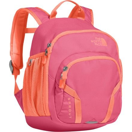 374d1a2c4 The North Face Y Sprout Backpack - Prim Pink Feather Orange - Grow ...