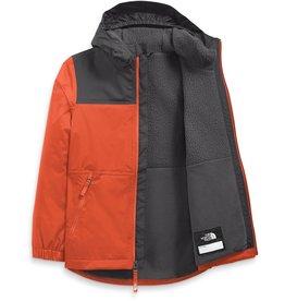 The North Face Warm Storm Rain Jacket Burnt Ochre Asphalt Grey