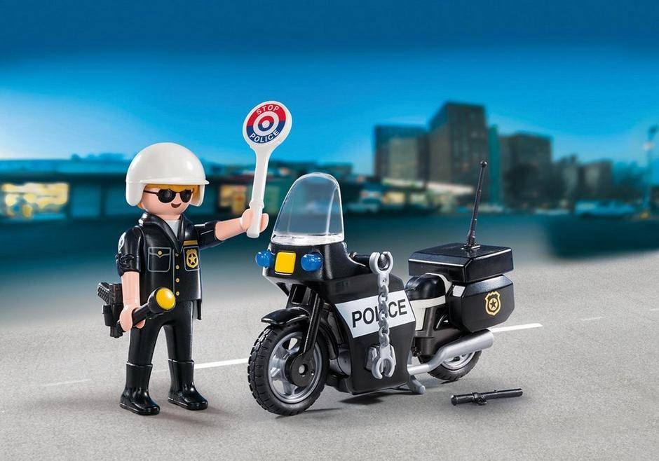 Playmobil Police Carry Case