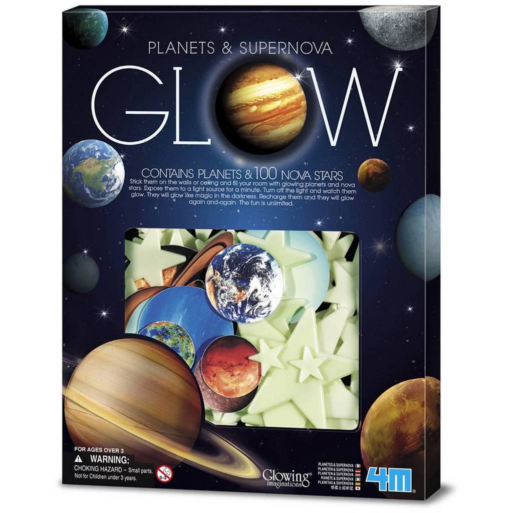 4M Supernova Stars and Planets