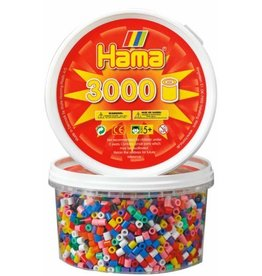 Hama Midi Beads in Tub (3000)