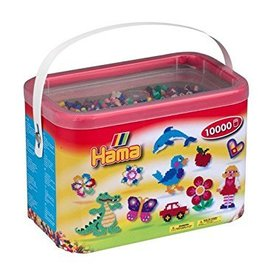 Hama 10,000 Beads in a Bucket