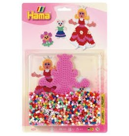 Hama Bead kit blister - large Princess