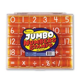 Learning Resources Jumbo Numbers Stamps