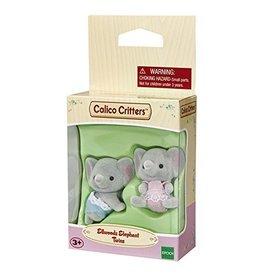Calico Critters Ellwoods Elephant Twins