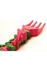 Pink Garden Rake Fork