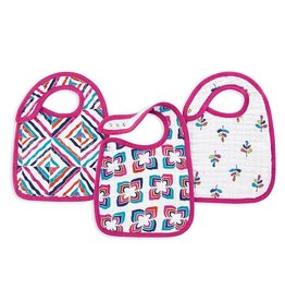 aden + anais Snap bib flip side 3 pack