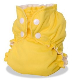 AppleCheeks Cloth Diaper Cover Lemon Zest