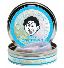 Crazy Aaron's Thinking Putty Northern Lights 4 inc Tin