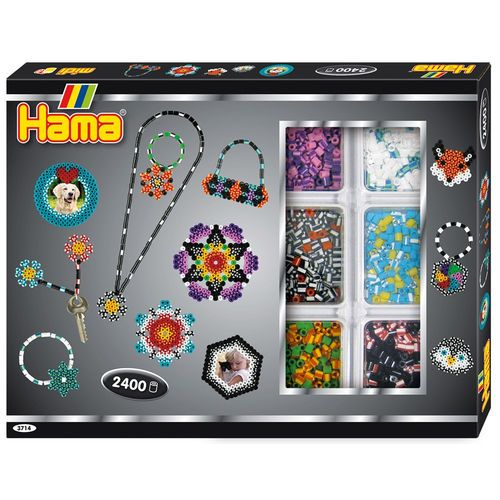 Hama Striped Beads Activity Box 2400