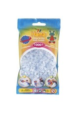 Hama Glow in the Dark Blue 1k Beads in a Bag