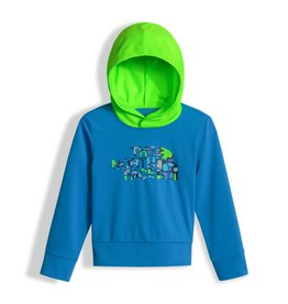 The North Face Toddler Long Sleeve Hike/Water Tee Clear Blue lake
