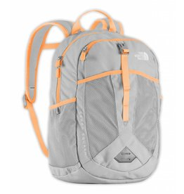 The North Face Youth Recon Squash Backpack High Rise Grey/Naranja Orange