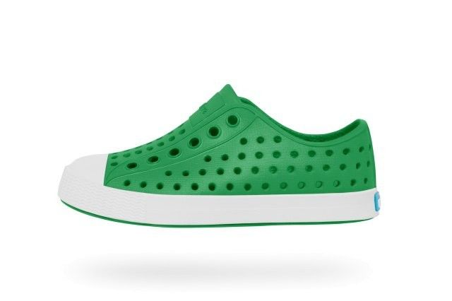 Native Jefferson Child Giant Green/Shell White