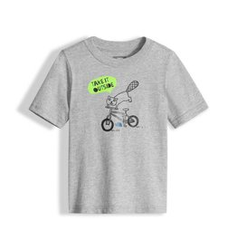 The North Face Toddler Short Sleeve Graphic Tee TNF Light Grey Heather