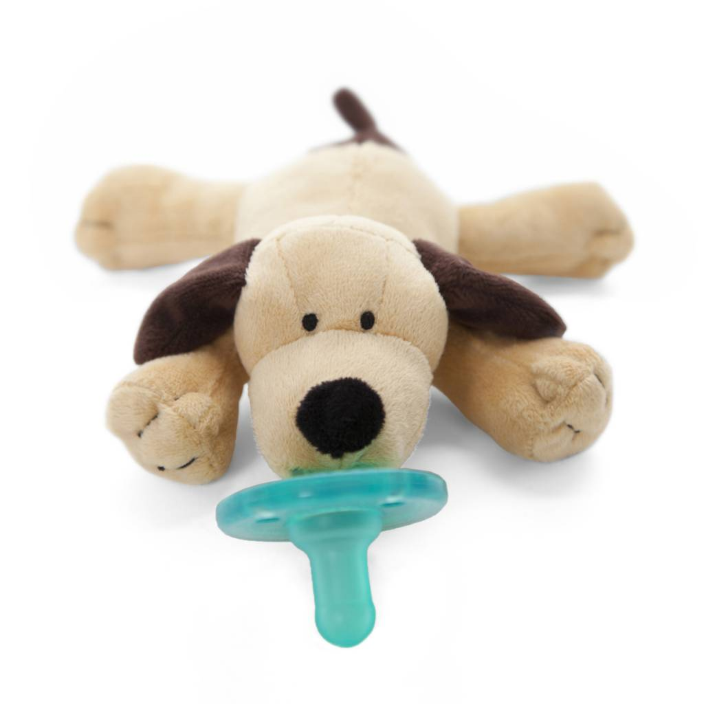 Wubbanub WubbaNub Pacifier Brown Puppy