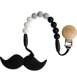 Glitter & Spice Moustache Teether- Original