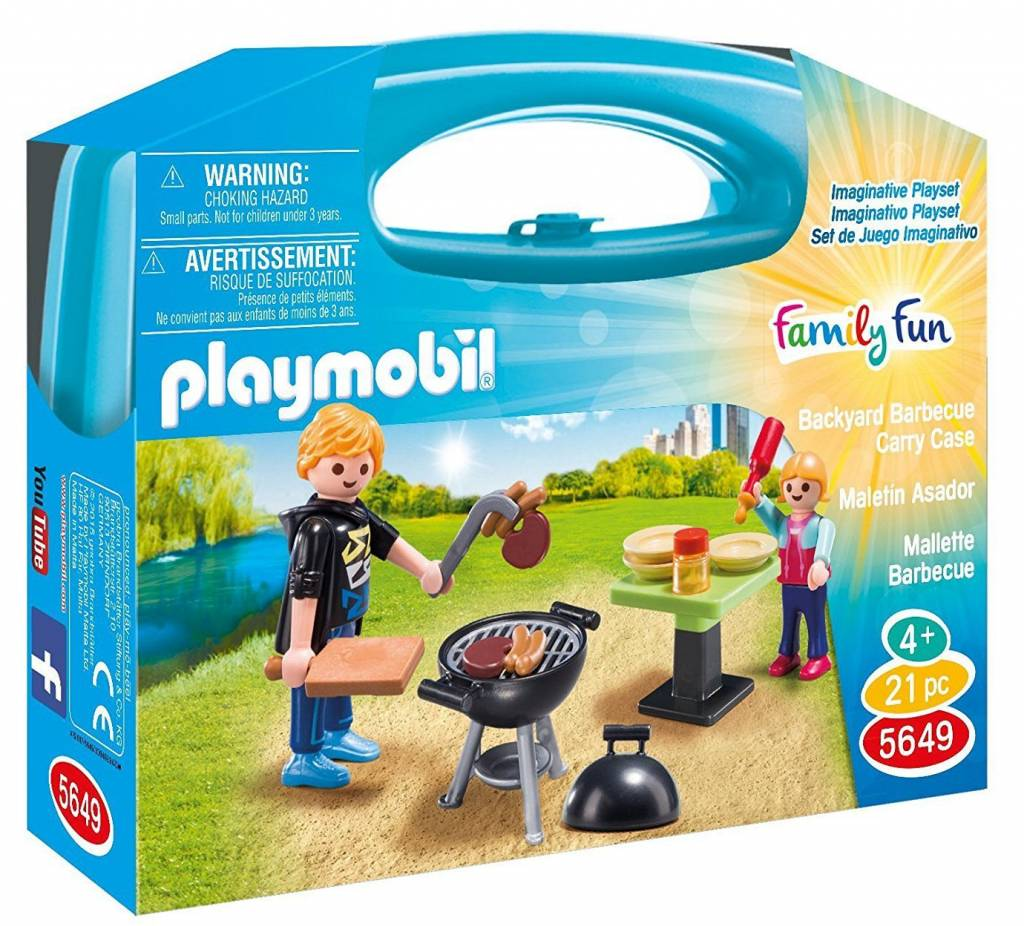 Playmobil Backyard Barbecue Carry Case