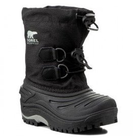 Sorel Super Trooper Youth Black/Light Grey