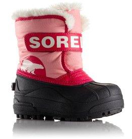 Sorel Children's Snow Commander Boot Coral Pink