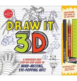 Klutz Draw it 3-D