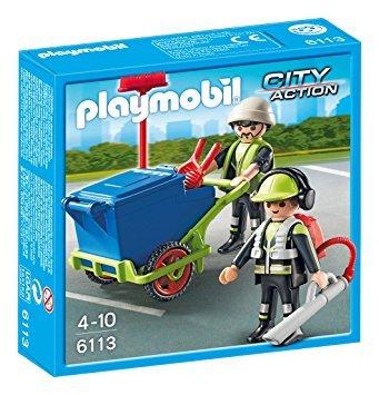 Playmobil Sanitation Team