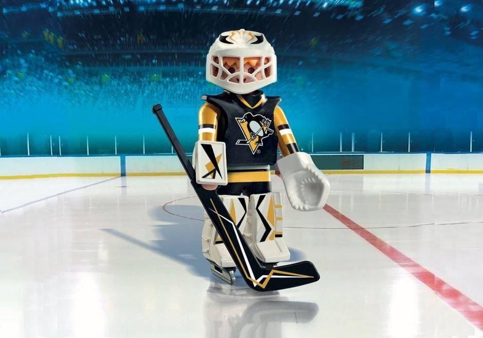 Playmobil NHL Pittsburgh Penguins Goalie