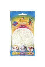 Hama Glow in the Dark Green 1k Beads in a Bag