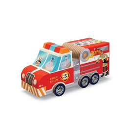 Crocodile Creek Fire Truck Puzzle & Play