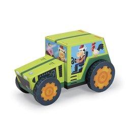 Crocodile Creek Tractor Puzzle & Play