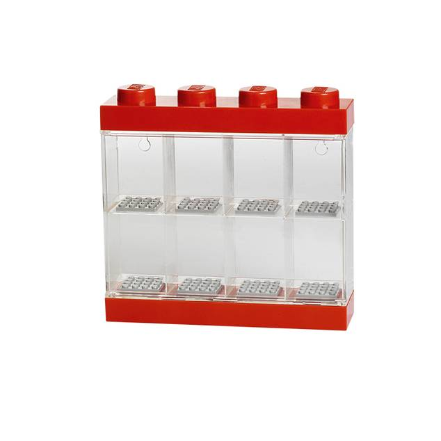 Lego Mini figurine Display Case Black