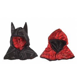 Great Pretenders Reversible Spider/ Bat Hood, Black