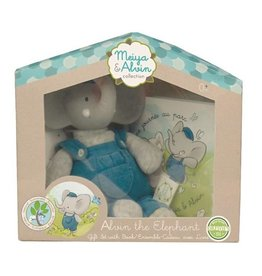 Meiya & Alvin Alvin the Elephant Gift Set with Book