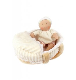 Bonikka Carry Cot Baby, Bottle & Blanket