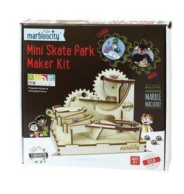 Tinkineer Marbleocity Mini Skate Park Maker Kit