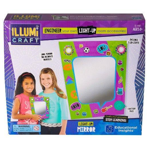 Educational Insights IllumiCraft™ Light Up Mirror
