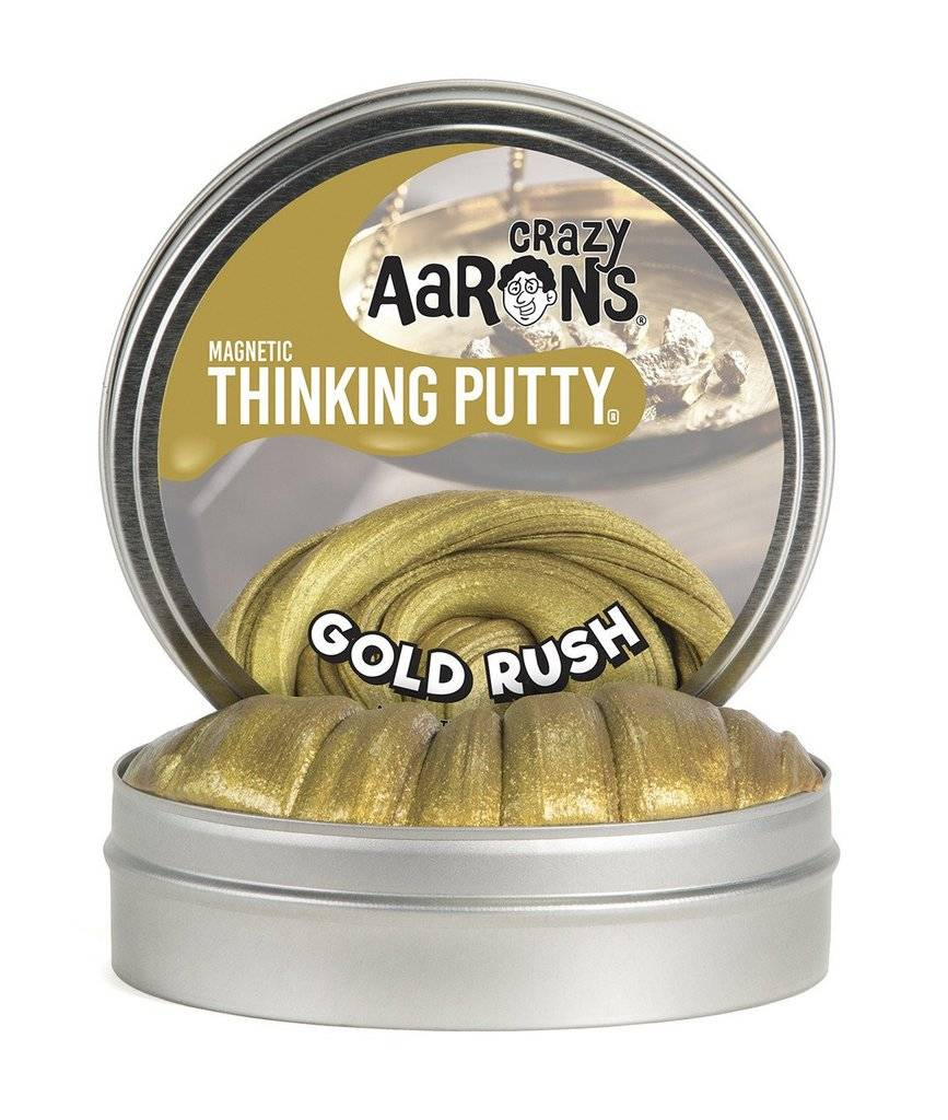 Crazy Aaron's Thinking Putty Gold Rush