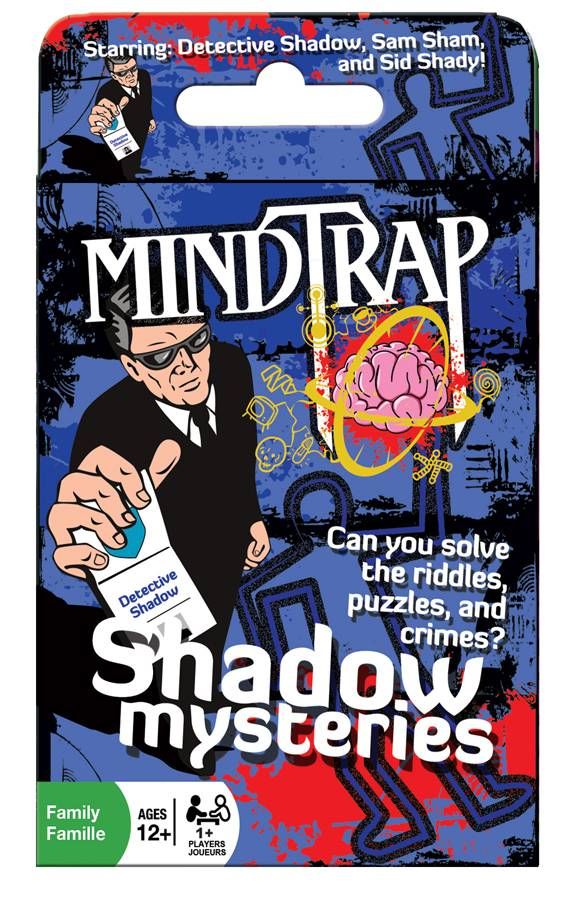 Outset Media MindTrap Shadow Mysteries